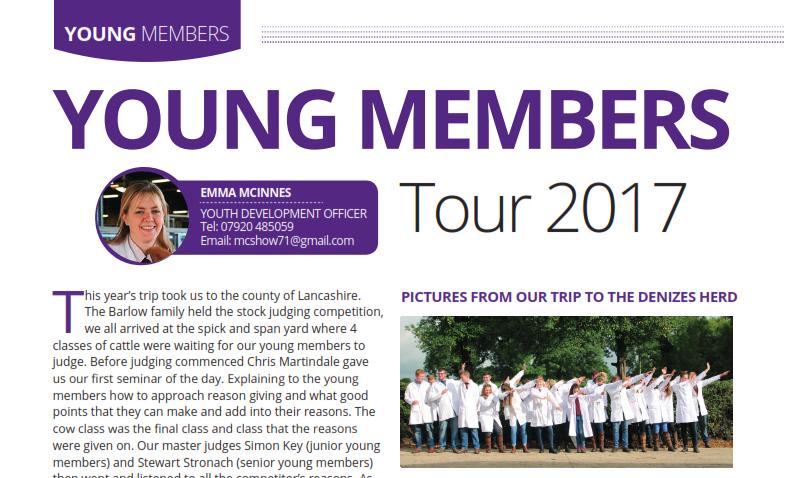 Young Members Trip Report 2017