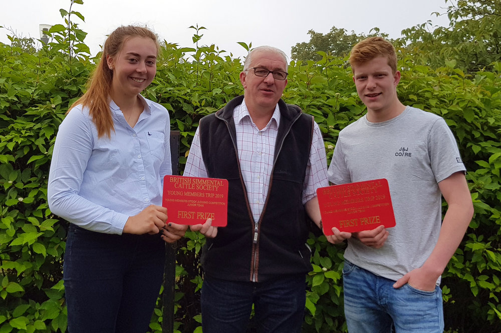 Young Members Trip 23rd – 25th August 2019 – Stock Judging results