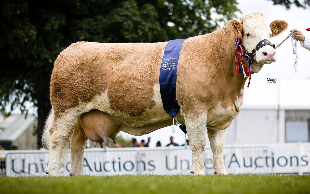 Royal Highland Show –  20th to 23rd June 2019